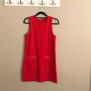 Madewell A line Red dress